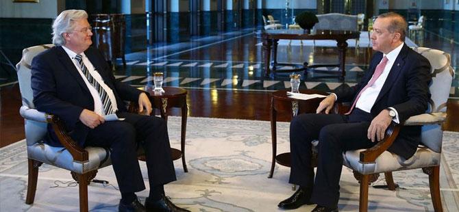 Cumhurbaşkanı Erdoğan ARD'de Alman gazeteci Sigmund Gottlieb'in sorularını yanıtladı.